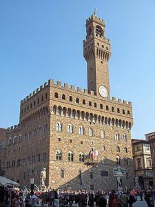 Палаццо Веккьо с башней Арнольфо, Флоренция
