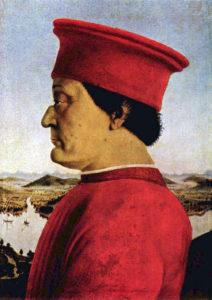 Пьеро делла Франческа. Портрет Федерико де Монтефельтро