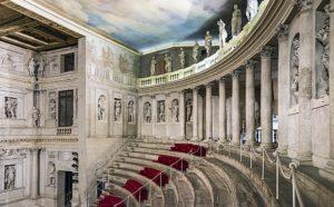 Театр Олимпико, 1580, зал