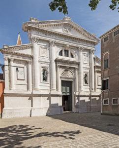 Церковь Сан Франческо делла Винья, 1562, фасад