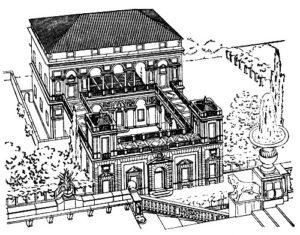 Галеаццо Алесси. Вилла Саули близ Генуи. Середина 16 в. Реконструкция.