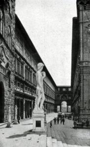Вазари. Улица Уффици во Флоренции. После 1560 г.