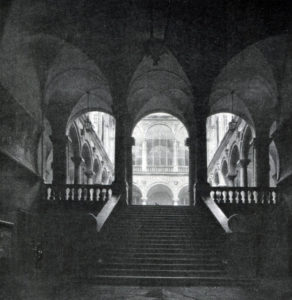 Рокко да Лурага. Палаццо Дориа - Турси в Генуе. 1564 г. Вид на внутренний двор.