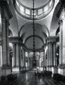 Палладио. Церковь Сан Джорджо Маджоре в Венеции. Начата в 1565 г. Внутренний вид