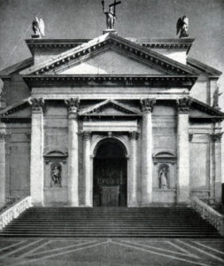 Палладио. Церковь Иль Реденторе в Венеции. 1577-1592 гг. Фасад