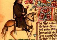 Рукопись Элсмера (Элсмерский Чосер, н. XV в., Англия \ Библиотека Хантингтона, Сан-Марино, Калифорния, EL 26 C 9)