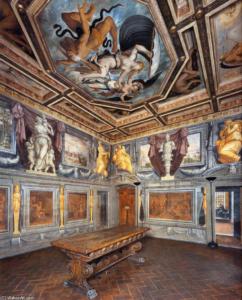 Дом Вазари в Ареццо. Интерьер