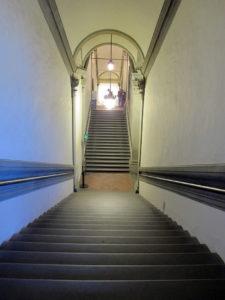 Лестница палаццо Веккьо, Вазари