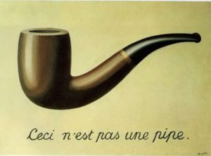 Магритт. Это не трубка. 1929
