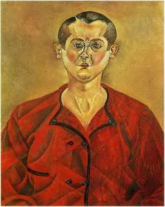 Миро. Автопортрет. 1919; 75x60 см Музей Пикассо, Барселона