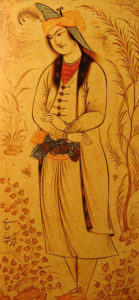Принц Мухаммад-Бейк из Грузии Риза-йи-Аббаси, 1620