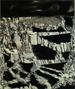 Танги. Воображаемое количество. 1954; 98,5x81 см