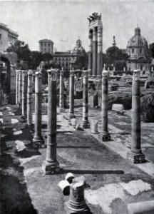 Форум Цезаря в Риме. 1 в. до н. э.