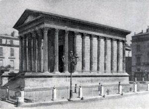 Римский храм — так называемый Квадратный дом — в Ниме (южная Франция). Начало 1 в. н. э.