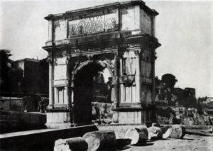Арка Тита в Риме. 81 г. н. э
