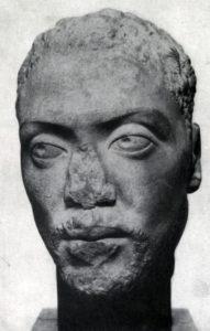 Портрет негра. Мрамор. 2 — начало 3 в. Берлин