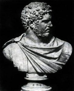 Портрет Каракаллы. Мрамор. Начала 3 в. Неаполь. Национальный музей