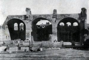 Базилика Максенция в Риме. 306— 312 гг.