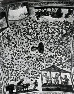 Церковь Санта Костанца в Риме. Мозаика свода. Середина 4 в.