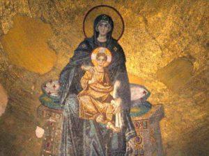 Богоматерь с Младенцем. София Конст