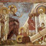 Воскрешение Лазаря. Церковь Богоматери в Асину