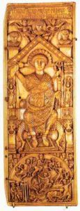 Диптих Анастасия 517 г. Левая створка
