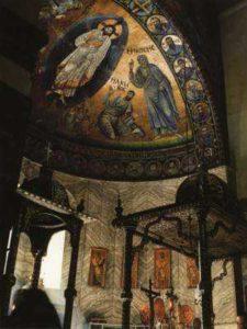 Монастырь св. Екатерины на Синае. Мозаика в апсиде