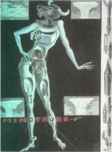 Обложка для журнала «Минотавр». 1936