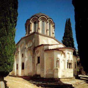 Остров Хиос. Монастырь Неа Мони