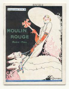 Плакат Мулен Руж Шарль Гесмар (1925)