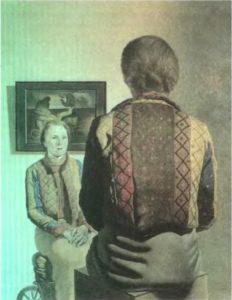 Портрет Гала. 1935