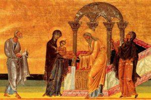Сретение. Минологий Василия II