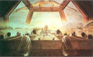 Тайная вечеря. 1955