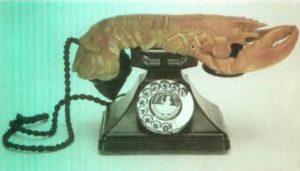 Телефон-лангуст. 1933