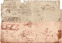 Атлантический кодекс (1478-1519, Италия \ Милан, Амброзианская библиотека