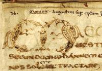 In Epistolam Joannis ad Parthos tractatus decem Augustin d'Hippone ( ок. 669, Франция \  Pierpont Morgan Library ,M.334)