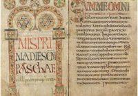 Missale Gothicum (676-725 гг., Луксёйль, \ Ватиканская апостольская библиотека, Reg.lat.317)