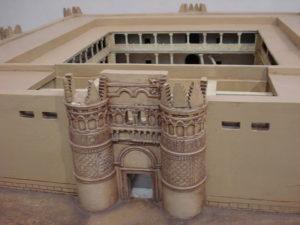 Каср Аль-Хейр Аль-Гарби, реконструкция фасада замка