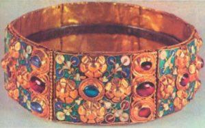 Корона лангобардской королевы Теоделинды, VI—VII вв. Монца, сокровищница собора