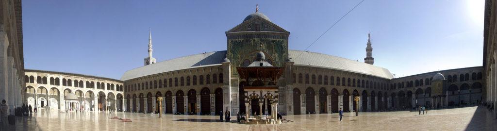Мечеть Омейядов, панорама