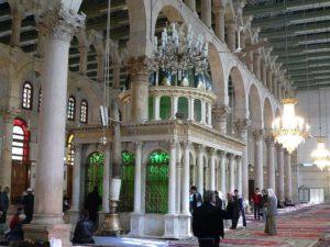 Могила пророка Яхьи (Иоанна Крестителя)