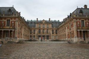 Мраморный двор Версальского дворца