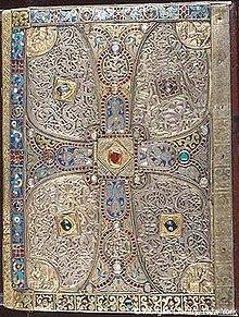 Нижняя обложка, Евангелие Линдау