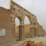 Остатки фасада Мшатты