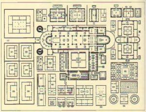 Типовой план монастыря, IX в. Санкт-Галлен, Библиотека монастыря
