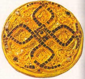 Фибула из Виттислингена, VII в. Мюнхен, Баварский Национальный музей