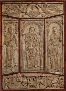 Обложка Евангелия из Лорша