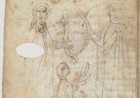 Хроники Фредегара (Chronique de Frédégaire, Codex Claromontanus), 690-710, Бургундия \ BNF, MS Latin 10910