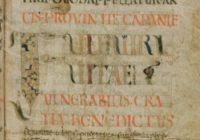 Диалоги Григория Великого (Gregorius M., Dialogi. Libri IV, Франция, ок. 700 г. \ Швейцария, Stiftsbibliothek, Cod. Sang. 214)