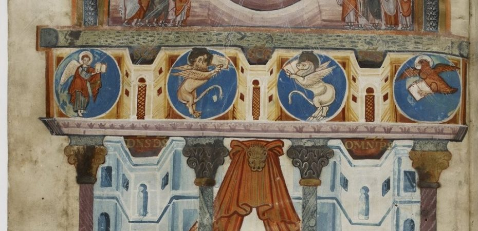 Евангелие Святого Медарда из Суассона (IX в, Ахен \ BNF, lat.8850)